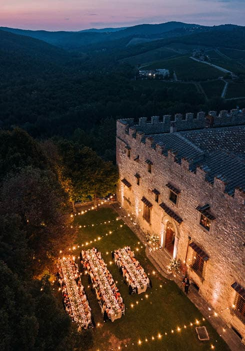 Floé - Wedding venues in Tuscany